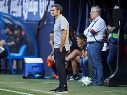 Valverde en el duelo de El Sadar de esta campaña.