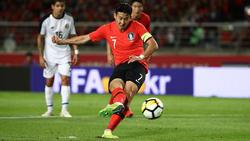 Spielt mit Südkorea gegen Nordkorea: Heung-Min Son
