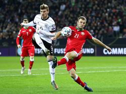 Deutschland will sich gegen Weissrussland das EM-Ticket sichern