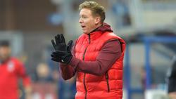 Julian Nagelsmann liegt mit RB Leipzig weiter voll auf Kurs