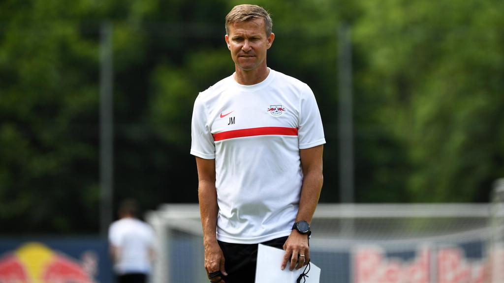 Erfolgserlebnis für Leipzigs neuen Cheftrainer Jesse Marsch