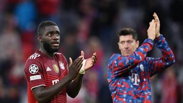 Dayot Upamecano und der FC Bayern treffen in der Champions League auf Benfica