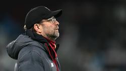 Jürgen Klopp vom FC Liverpool interessieren mögliche Rekorde nicht