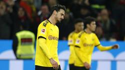 Mats Hummels hadert mit dem Spiel des BVB