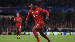 Alphonso Davies überzeugt beim FC Bayern