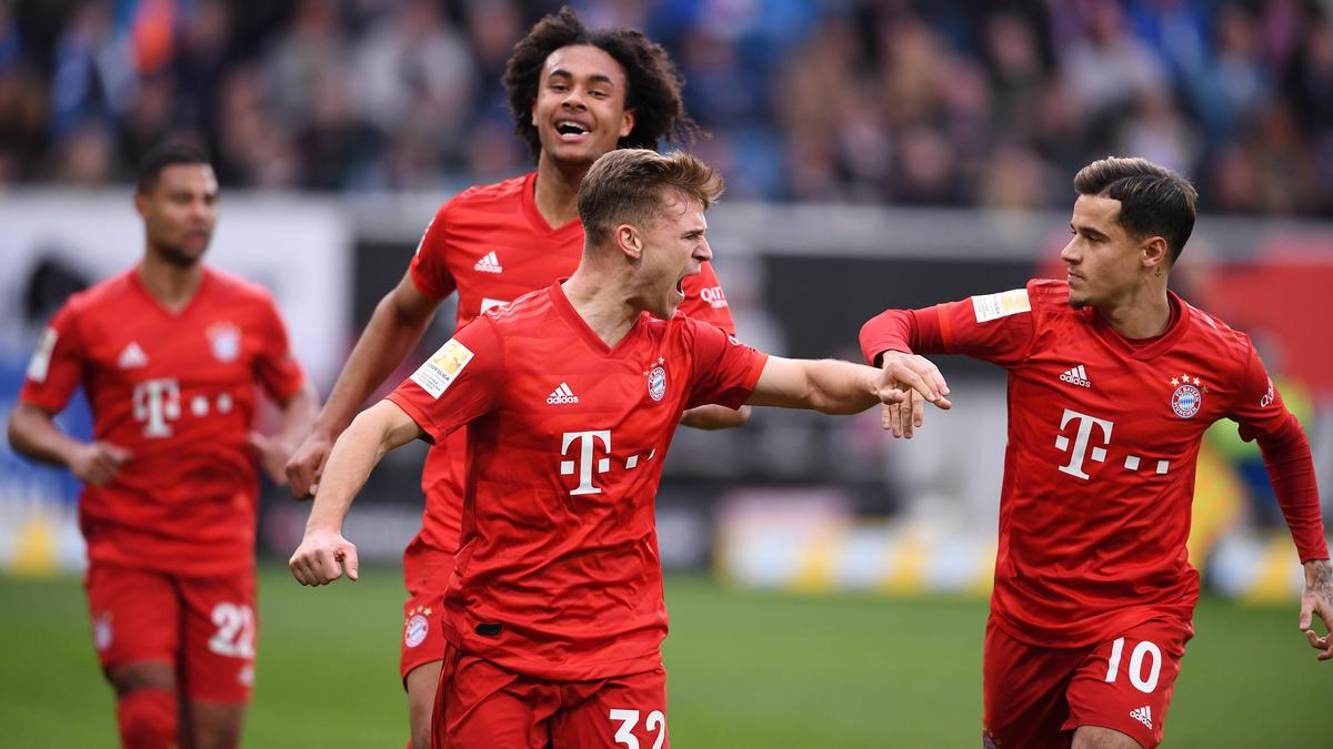 Der FC Bayern München gewann in der Bundesliga deutlich gegen 1899 Hoffenheim