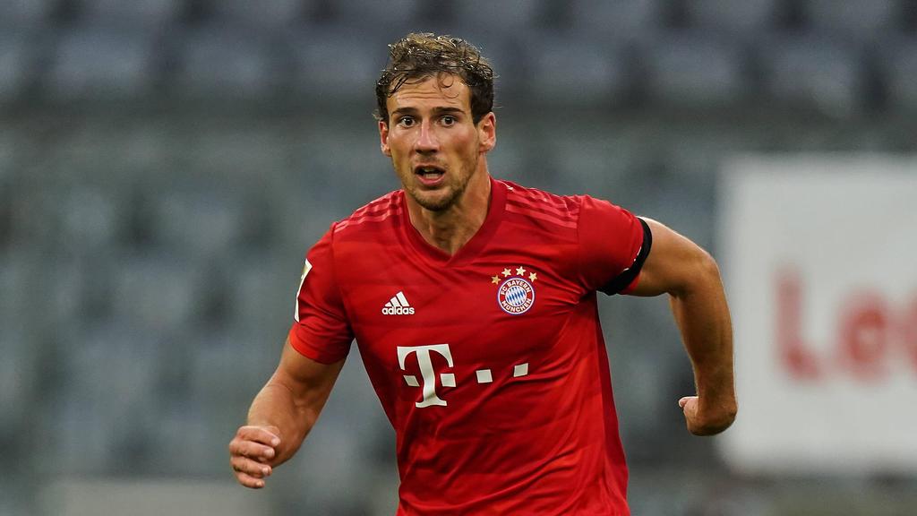 Leon Goretzka vom FC Bayern legte während der Pause an Muskelmasse zu