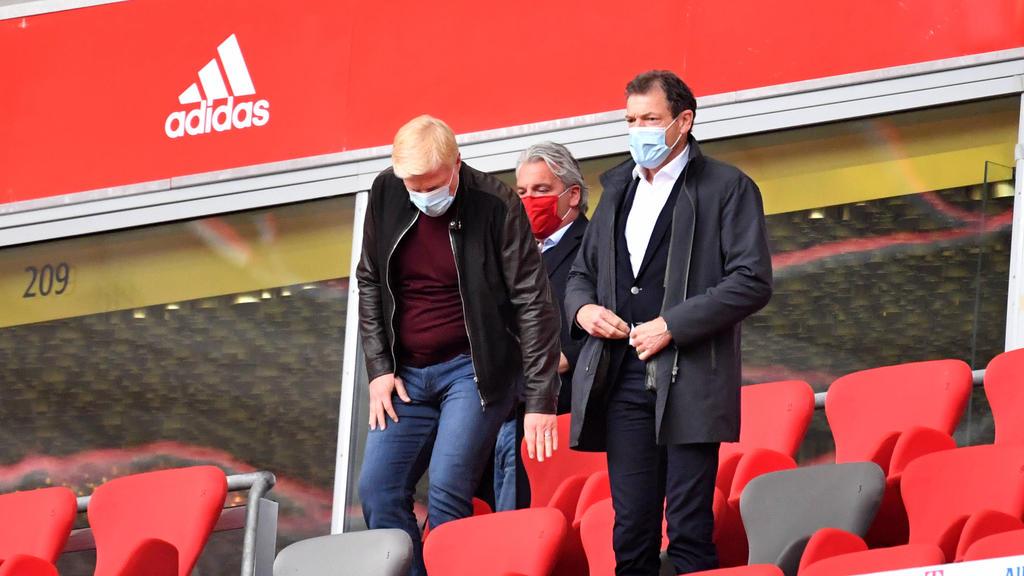 Oliver Kahn (l.) hat sich zu einer möglichen Fortsetzung der Champions League geäußert