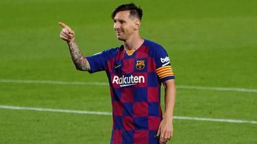 Bleibt Messi beim FC Barcelona?