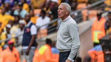 Ernst Middendorp ist nicht mehr Trainer der Kaizer Chiefs