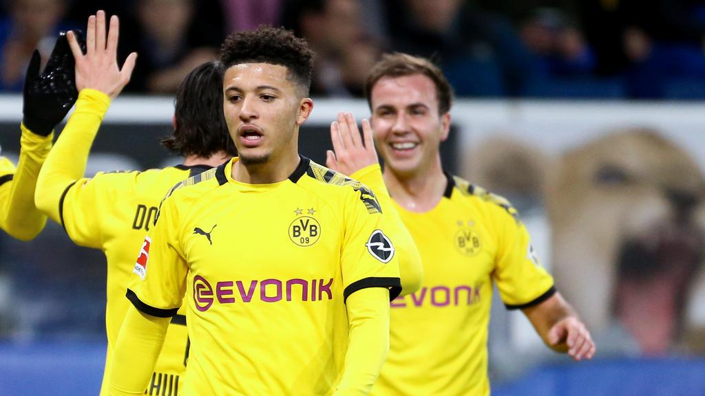 Steht beim BVB bis 2023 unter Vertrag: Jadon Sancho