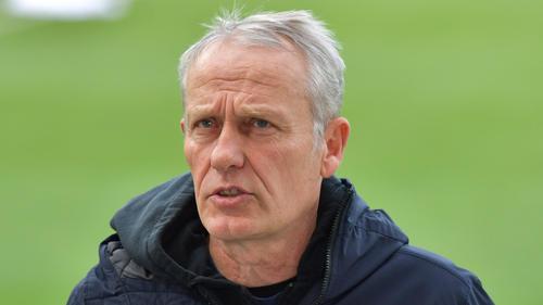 Christian Streich steht beim SC Freiburg unter Druck