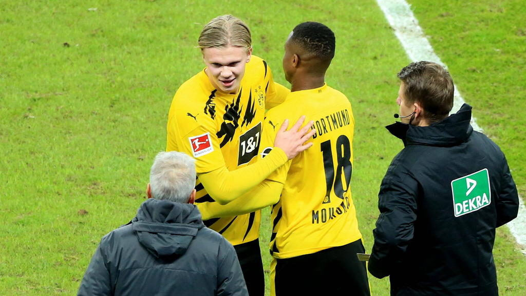 BVB siegt gegen Hertha: Erling Haaland glänzte, Youssoufa Moukoko debütierte
