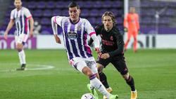 Luka Modric (r.) siegte mit seinen Königlichen in Valladolid