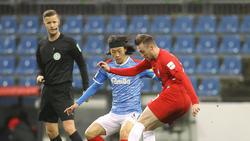 Das Hinspiel zwischen Heidenheim und Kiel endete 2:2