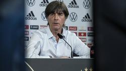 Joachim Löw sprach in der PK der Nationalmannschaft