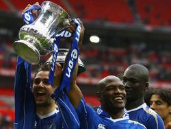 Portsmouth in betere tijden: de club wordt in 2008 winnaar van de FA Cup.