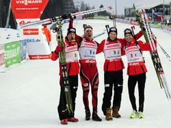 50. Medaille für Altmeister Björndalen