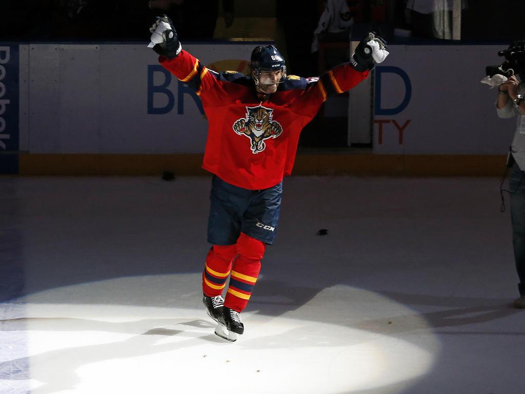Jaromir Jagr ist der drittbeste Torschütze in der NHL