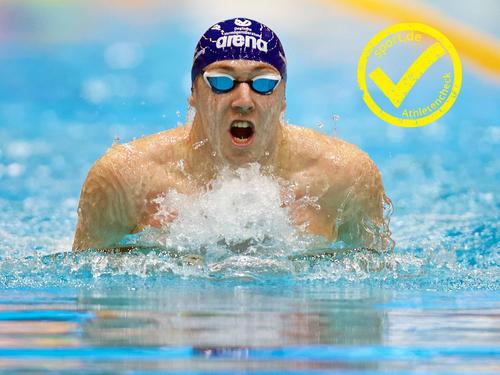 Der amtierende Weltmeister Marco Koch will in Rio um die Medaillen mitschwimmen