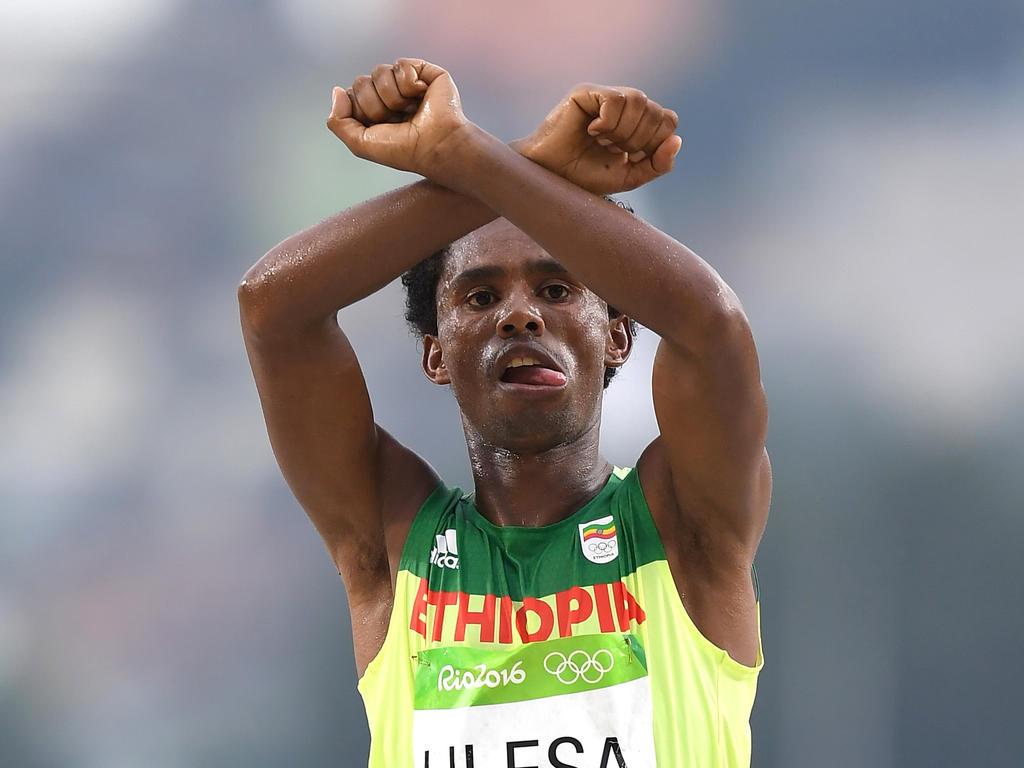 Feyisa Lilesa wird wohl nicht in seine Haimat zurückkehren