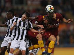 Juventus krönt sich mit Nullnummer gegen Roma zum Meister