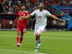 Erneut der Matchwinner auf spanischer Seite: Diego Costa