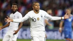 Kylian Mbappé ist für Frankreich unersetzlich