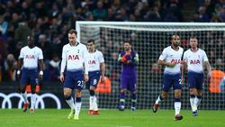 Enttäuschte Spurs