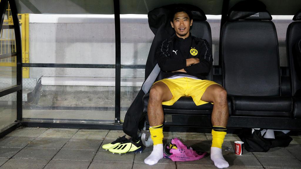 Shinji Kagawa ist beim BVB ohne Perspektive