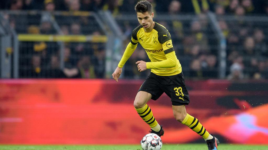Julian Weigl könnte gegen Nürnberg zurück ins Team rücken