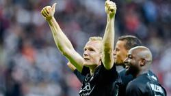 Sebastian Rode fühlt sich bei Eintracht Frankfurt sichtlich wohl