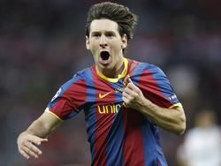 Lionel Messi vs. Manchester in 2011