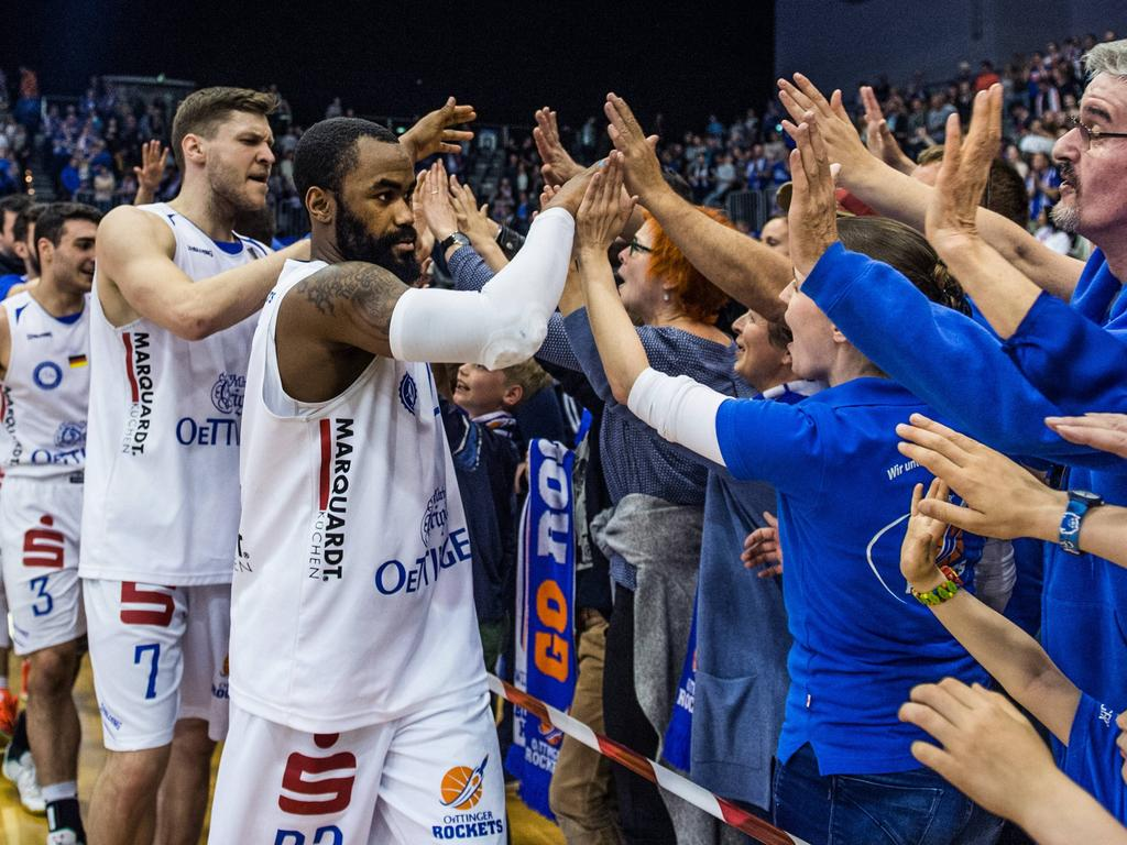 Die Oettinger Rockets Gotha sind in die Basketball-Bundesliga aufgestiegen