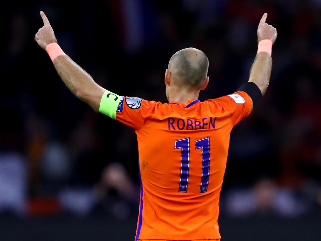 Jupp Henyckes adelt Arjen Robben
