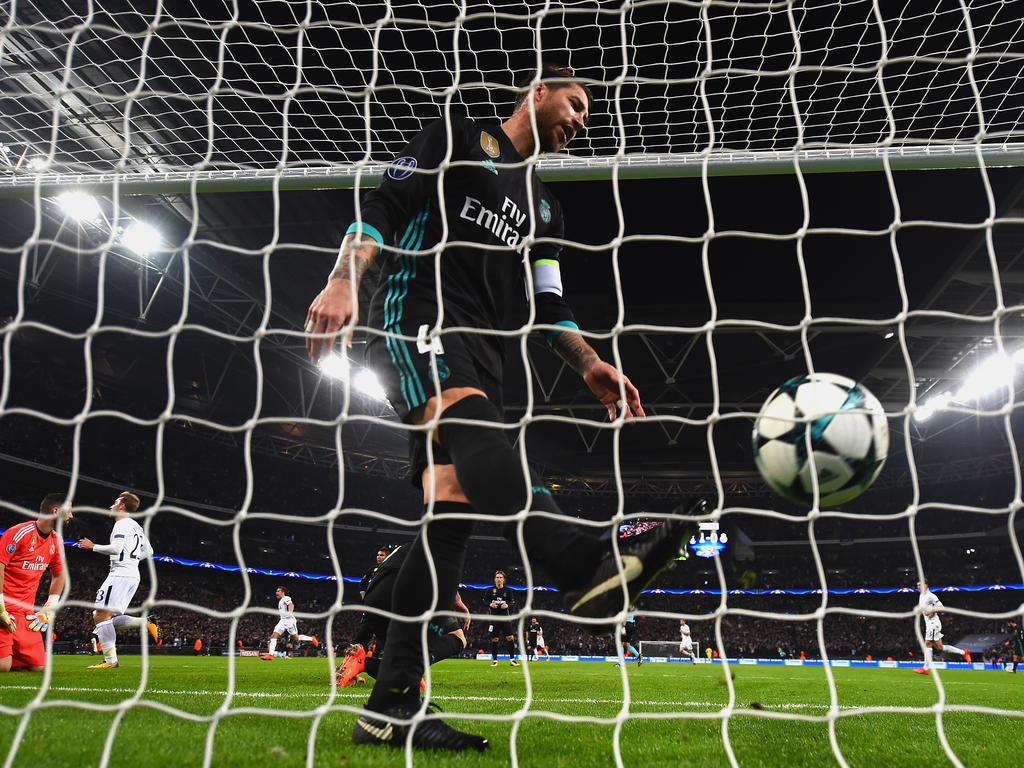 Real Madrid gerät nach der Pleite bei Tottenham in die Kritik