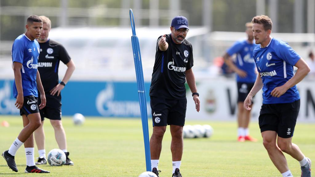 David Wagners Schalker bestreiten in Gladbach das erste Topspiel der Saison