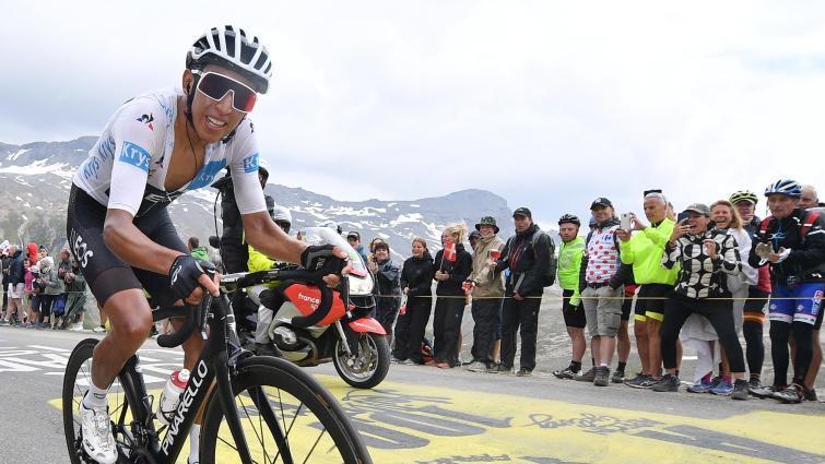 Egan Bernal war erster am Col de L'Iseran und gewann die abgebrochene Königsetappe der Tour