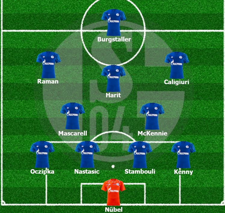 Mögliche Aufstellung des FC Schalke