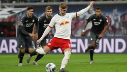 Leipzigs Timo Werner trifft und trifft - gegen Hoffenheim sogar gleich doppelt