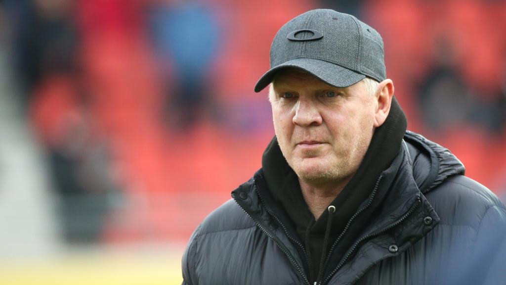 Stefan Effenberg ist Manager beim KFC Uerdingen