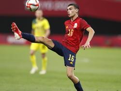 Pedri es el jugador emblema de la selección española olímpica.