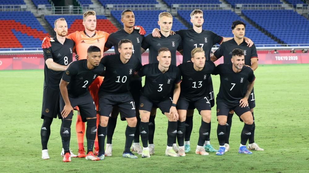 Die deutschen Fußballer besuchen die Olympia-Eröffnungsfeier