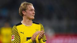 Julian Brandt führte den BVB als Kapitän auf den Platz