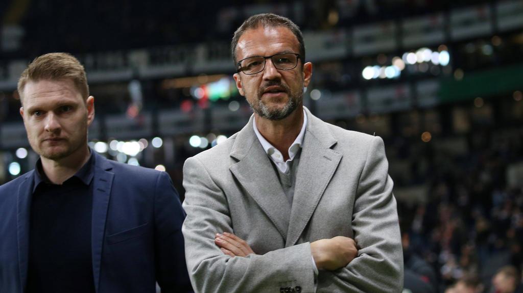 Gewagte Thesen von Eintracht-Sportvorstand Fredi Bobic