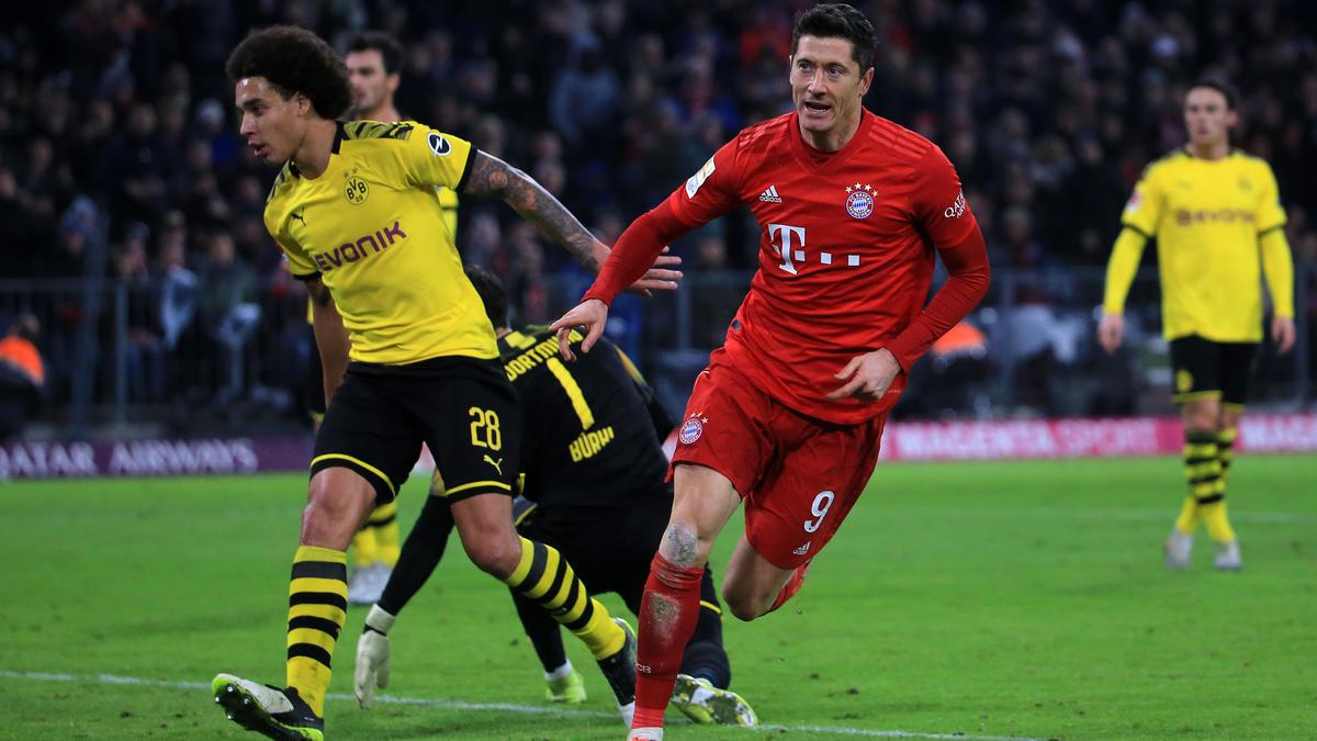 Bayern-Star Robert Lewandowski muss derzeit pausieren