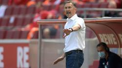Mit Zuversicht ins Spiel gegen RB Leipzig: Achim Beierlorzer
