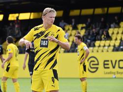 BVB-Goalgetter Erling Håland steht bei Real weit oben auf der Wunschliste