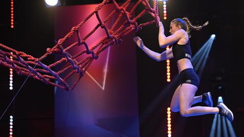 Stefanie Noppinger zählt zu den Favoritinnen in der 5. Staffel Ninja Warrior Germany