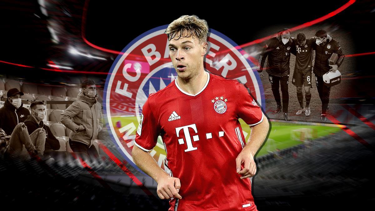 Der FC Bayern muss noch lange ohne Joshua Kimmich auskommen